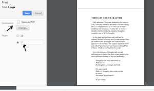 save specific pdf page as pdf