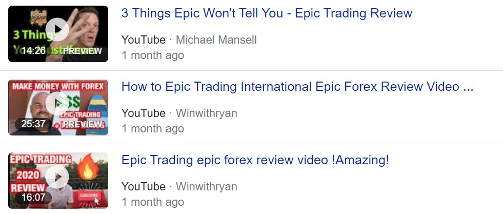 Epic forex MLM or scam ?